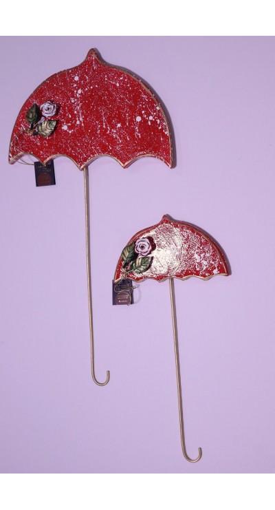 Σετ ομπρέλες κόκκινες